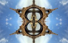 Free Eiffel Tower Pattern Stock Photo - 475380