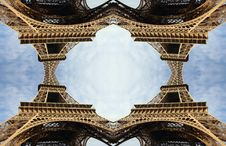 Free Eiffel Tower Pattern Stock Image - 475381