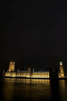 Houses Of Parliament Royalty Free Stock Photo