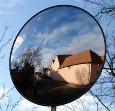 Free Blue Mirror Royalty Free Stock Image - 477456