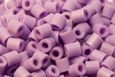 Free Purple Plastic Beads Stock Photos - 478553