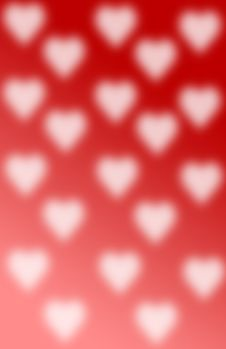 Free Hearts Blurred Royalty Free Stock Photography - 478877