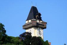 Free Clock-Tower Graz Stock Photo - 479070
