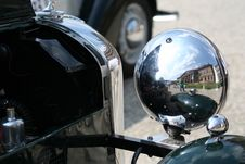 Free Oldtimer Lamp As Mirror Royalty Free Stock Photos - 479428