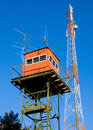 Free Look-out Station And Communications Tower Royalty Free Stock Photos - 4701038