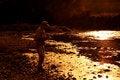 Free Fisherman On Sunset Stock Photo - 4703190