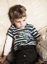 Free Boy On The Couch Stock Photography - 4704442