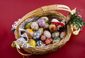 Free Easter Eggs Basket Royalty Free Stock Photo - 4708435