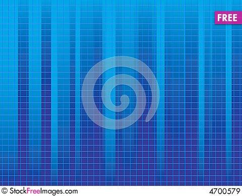 Blue striped background Cartoon Illustration