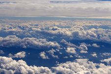 Free Clouds - View From Flight 67 Stock Images - 4700344