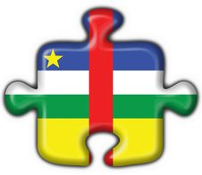 Free Central African Republic Flag Puzzle Shape Royalty Free Stock Photo - 4700435