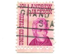 Old Postage Stamps From USA Ten Cents Royalty Free Stock Image