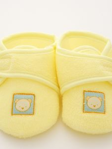 Free Babies First Shoes Royalty Free Stock Photos - 4701758