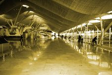 Free Airport, Madrid, Spain Stock Photos - 4701763