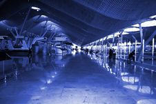 Free Airport, Madrid, Spain Royalty Free Stock Images - 4701769