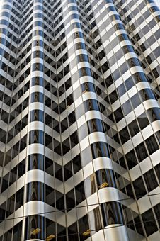 Free Glass Skyscraper In Downtown San Francisco Royalty Free Stock Images - 4702869