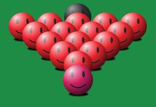 Free Snooker Balls Royalty Free Stock Photography - 4703047