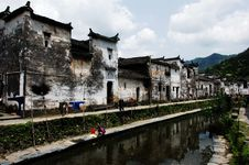 Free Chinese Ancient Villages Royalty Free Stock Image - 4703806