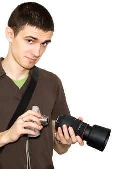 Free Photographer Stock Photos - 4703893