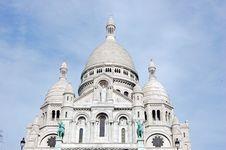 Free Basilica Of The Sacré Coeur Stock Image - 4704211