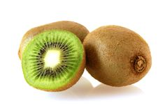 Free Two Kiwi Fruites With Half Royalty Free Stock Photos - 4705548