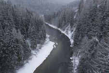 Free Snowdrift. Winter Landscape Stock Photo - 4706090