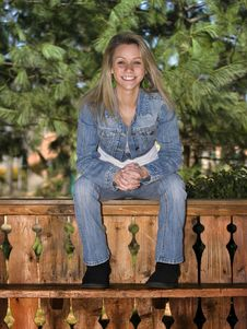 Free Smiling Young Teenager Stock Photography - 4706472