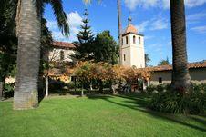 Free Mission Santa Clara Stock Image - 4707661