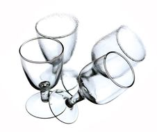 Free Four Glasses Royalty Free Stock Image - 4707776