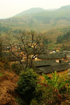 Free Fujian Tulou Royalty Free Stock Photo - 4708665