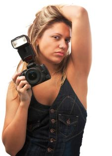 Free Sexy Photographer Royalty Free Stock Images - 4708739