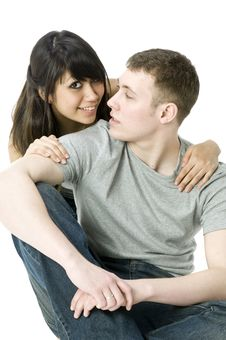 Free Young Couple Together Royalty Free Stock Photos - 4708868