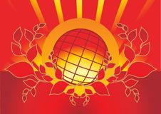 Fire Globe Stock Images
