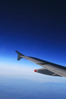In The Air (lower) Stock Photography