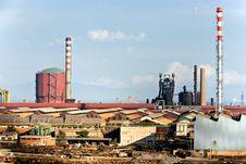 Free Power Plant In Piombino , Italy. Stock Photos - 4709903