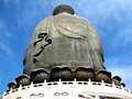 Free Back Of Big Buddha Statue Royalty Free Stock Photography - 4713717