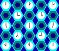 Free Clocks Background Stock Image - 4714801