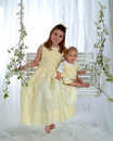 Free Siblings On Swing Royalty Free Stock Image - 4716436