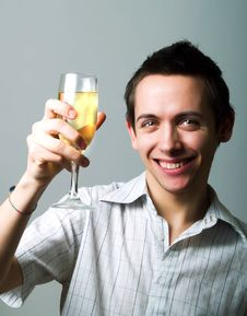 Free Drinking Champaign Stock Photo - 4710250