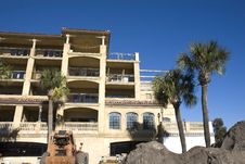 Free New Stucco Condo Construction Royalty Free Stock Photography - 4710417