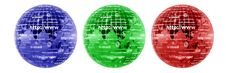 Free Blue Red And Green Globe Stock Image - 4711841