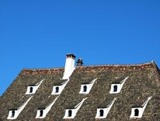 Free Traditional French Roof Royalty Free Stock Image - 4712356