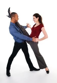 Free Dancing Couple Royalty Free Stock Photos - 4712438