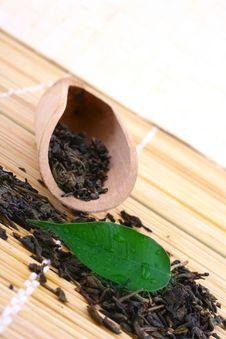 Free Green Tea Leaves Stock Photo - 4712730