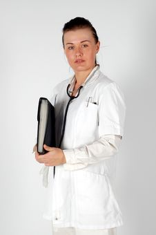 Free Female Doctor Stock Image - 4712971