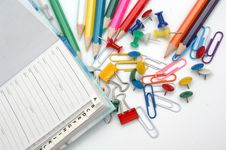 Free Pencils Royalty Free Stock Photo - 4713725