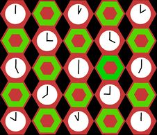 Free Clocks Background Royalty Free Stock Images - 4714739