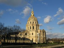 Free Dome Des Invalides Royalty Free Stock Image - 4714836