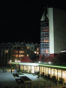 Night Hotel Royalty Free Stock Photos