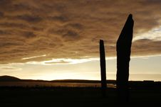 Free Stones Of Stenness Stock Image - 4714971